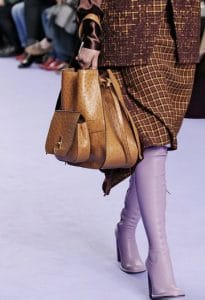 Mulberry Camel Ostrich Amberley Hobo Bag - Fall 2017