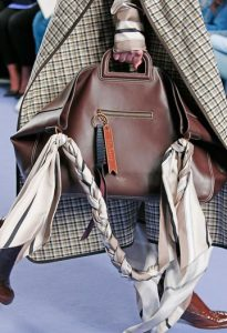 Mulberry Chocolate Silky Calf Brimley Tote Bag - Fall 2017