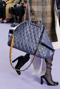 Mulberry Elephant Quilted Smooth Calf Brimley Tote Bag - Fall 2017