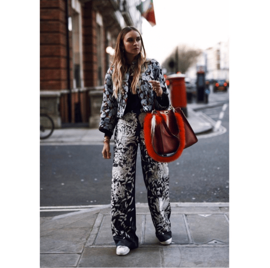 Nina Suess - London Fashion Week