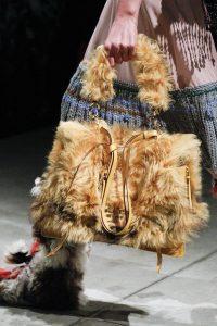 Prada Beige Fur Satchel Bag 2 - Fall 2017