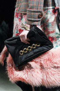 Prada Black Satin Embellished Clutch Bag 4 - Fall 2017