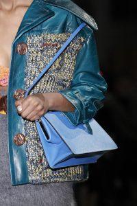 Prada Blue Shoulder Bag - Fall 2017