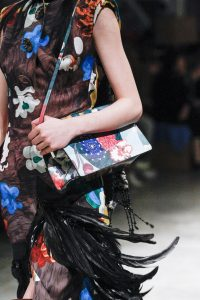 Prada Multicolor Floral Shoulder Bag - Fall 2017
