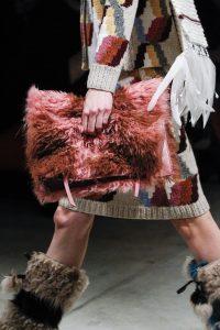 Prada Pink Fur Clutch Bag - Fall 2017