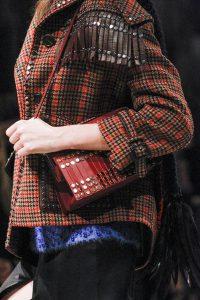 Prada Red Tasseled with Studs Shoulder Bag - Fall 2017