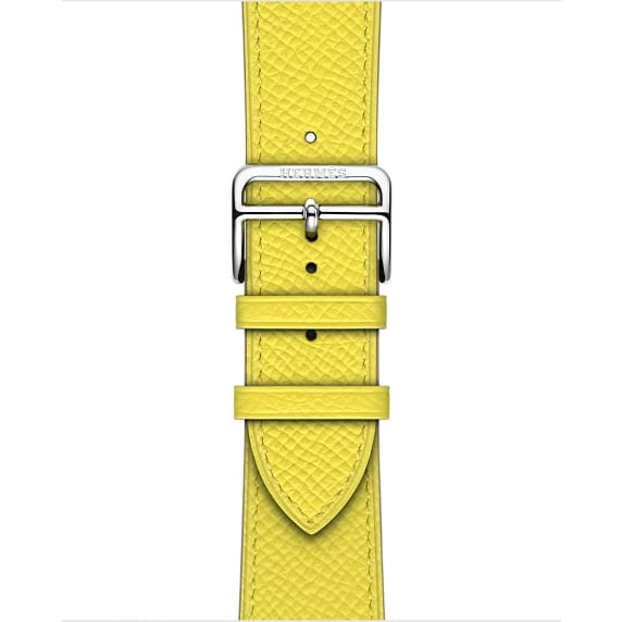 Apple Watch Hermès - 42mm Lime Epsom Leather Single Tour
