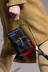 Balenciaga Black Crocodile Mini Flap Bag - Fall 2017