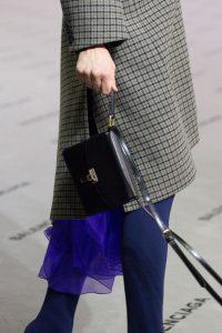 Balenciaga Black Mini Lock Bag - Fall 2017