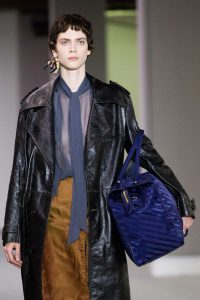 Balenciaga Blue Wash Bag XL - Fall 2017