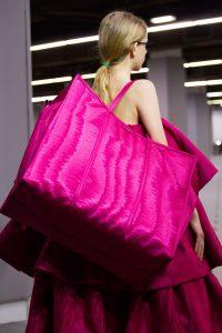 Balenciaga Fuchsia Pink Bazar Shopper XL Bag - Fall 2017
