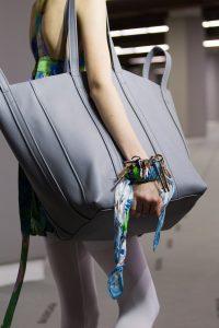Balenciaga Gray Large Tote Bag - Fall 2017