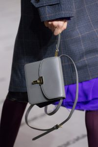 Balenciaga Gray Lock Bag - Fall 2017