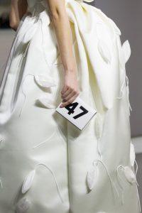 Balenciaga White 47 Mini Clutch Bag - Fall 2017