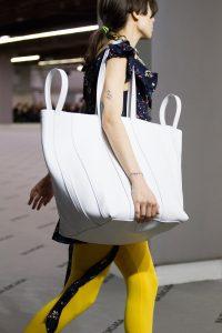 Balenciaga White Large Tote Bag - Fall 2017