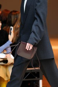 Celine Burgundy Mini Flap Bag - Fall 2017