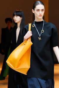 Celine Yellow Tote Bag - Fall 2017