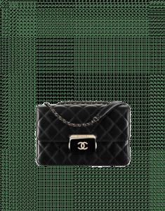 Chanel Black Beauty Lock Flap Bag