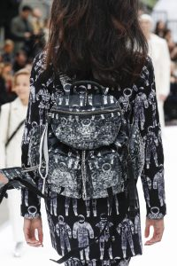 Chanel Black Embellished Backpack Bag - Fall 2017