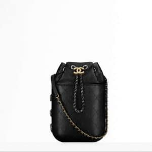 Chanel Black Gabrielle Purse Bag