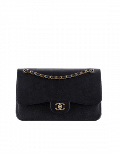 Chanel Black Timeless Pure Jumbo Flap Bag