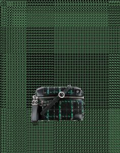 Chanel Black/Green/Blue/Red Tweed Waist Bag