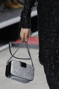 Chanel Black/Silver Mini Shoulder Bag - Fall 2017