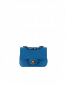 Chanel Blue Timeless Pure Mini Flap Bag