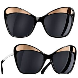 Chanel Butterfly Runway Sunglasses