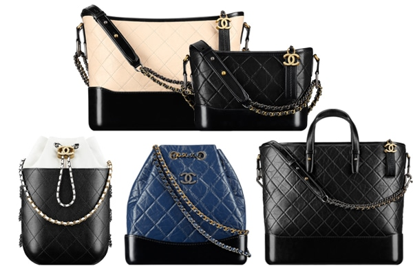 Black Chanel bag reference guide 2019