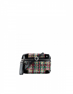 Chanel Red/Green/Yellow/White Tweed Waist Bag