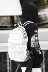 Chanel Silver Backpack Bag 2 - Fall 2017