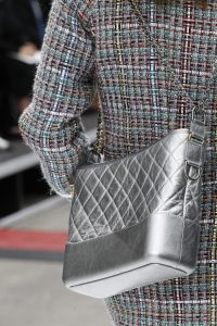 Chanel Silver Gabrielle Hobo Bag - Fall 2017