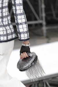 Chanel Silver Round Clutch Bag - Fall 2017