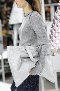Chanel Silver Tote Bag - Fall 2017