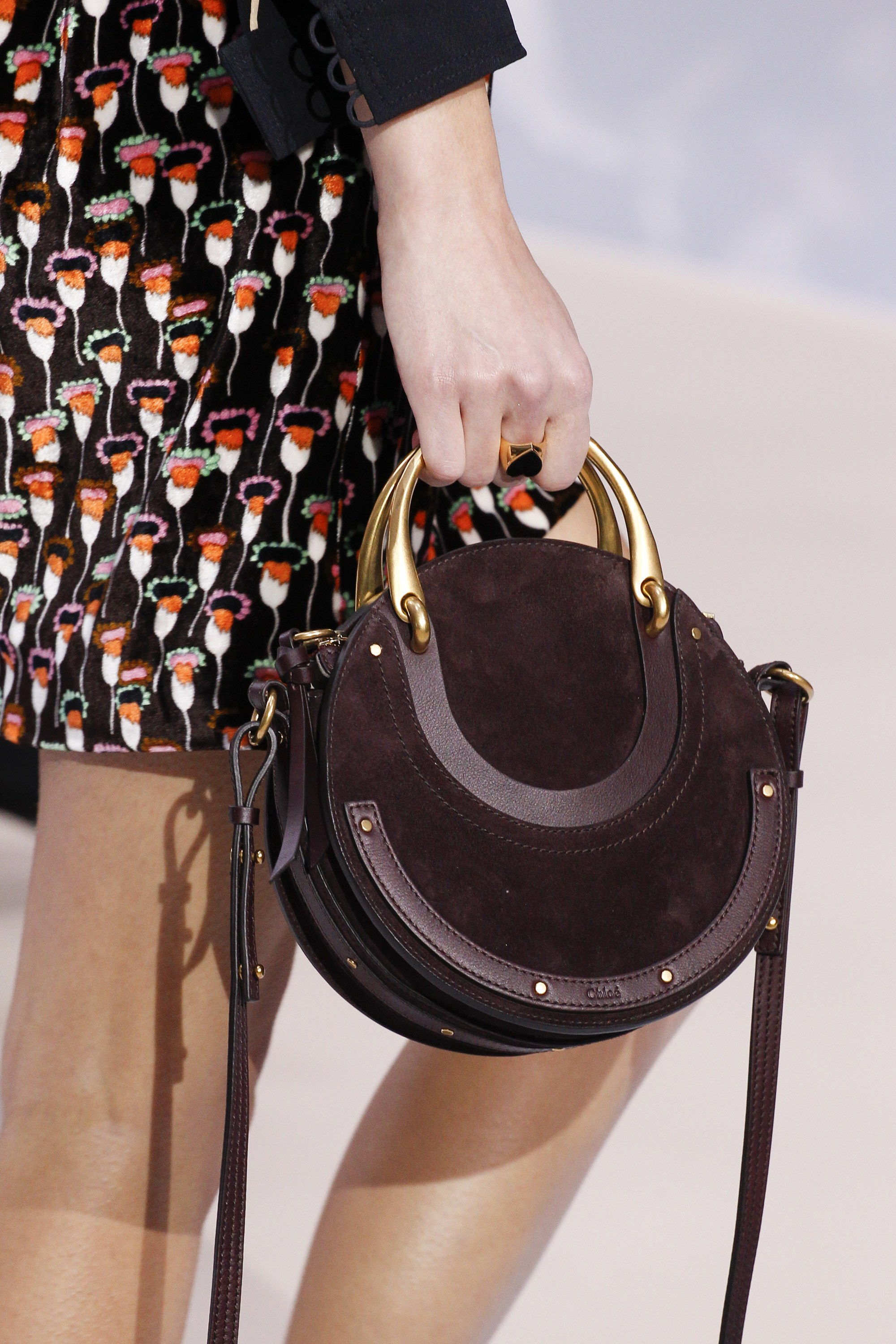 Chloe Fall Winter 2017 Runway Bag Collection Spotted Fashion