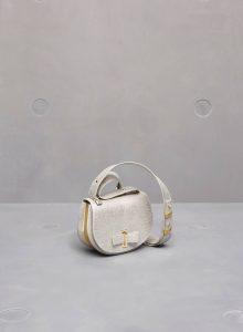 Delvaux Antique Silver Mutin Mini Bag