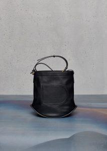Delvaux Noir Pin PM Bag