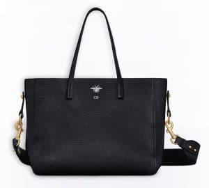 Dior Black D-Bee Shopper Bag