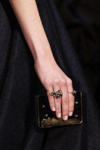 Dior Black Embellished Minaudiere Bag - Fall 2017