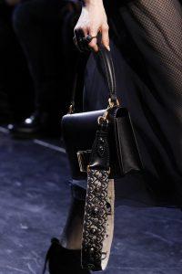 Dior Black Flap Bag - Fall 2017