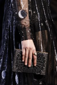 Dior Black/Gold Embellished Minaudiere Bag - Fall 2017
