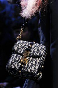 Dior Blue Denim Monogram Flap Bag - Fall 2017