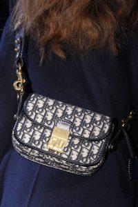 Dior Blue Denim Monogram Saddle Bag - Fall 2017