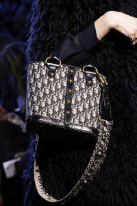 Dior Blue Denim Monogram Top Handle Bag - Fall 2017
