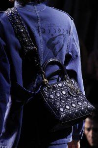Dior Blue Lady Dior Bag - Fall 2017