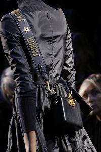 Dior Blue Mini Crossbody Bag with Jadior Shoulder Strap - Fall 2017