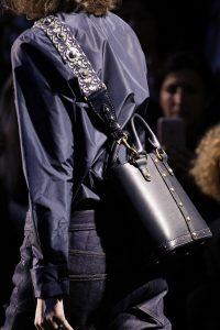 Dior Blue Studded Crossbody Bag with Handles 2 - Fall 2017