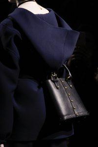 Dior Blue Studded Crossbody Bag with Handles - Fall 2017