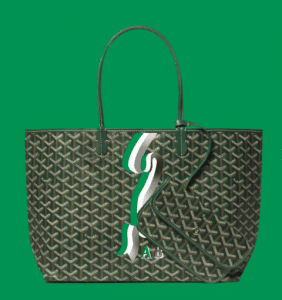 Goyard Green Banniere Saint Louis Tote Bag